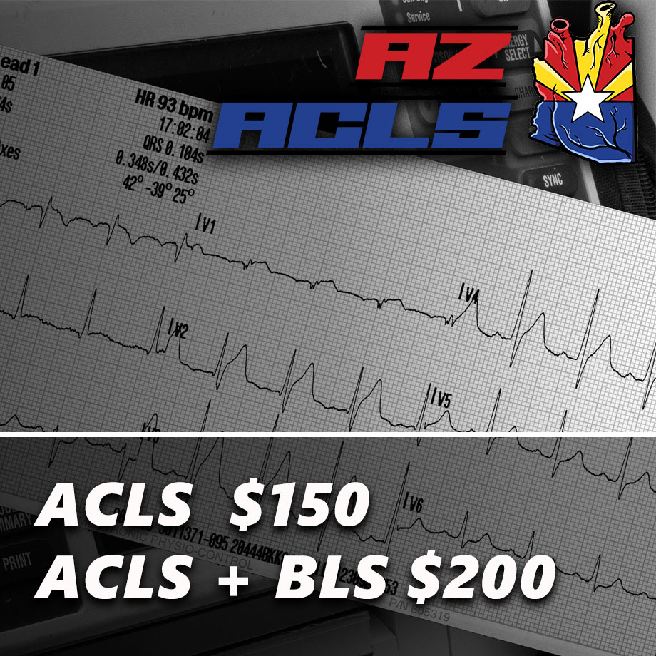 online acls refresher course offered by AZ ACLS